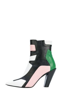 Motocross inspired ankle boots