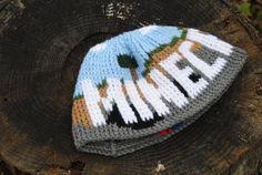 Minecraft Crochet Patterns Little World Called Wonderland Storenvy Crochet Pattern Minecraft Crochet Geek, Crochet For Boys, Crochet Stitches, Free Crochet, Knit Crochet, Crochet Hats, Minecraft Hat, Minecraft Teddy, Minecraft Spider