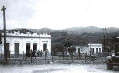Mercearia alemã  na estação ferroviária junto a Serra da Cantareira. São Paulo. 1939