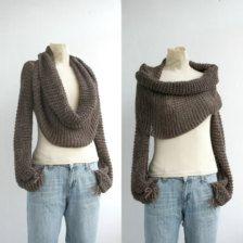Sweater-scarf