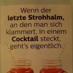 Lecker Lecker Cocktail.... Paaaaaaapiiiiiii