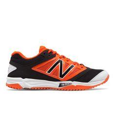 5a9247bd22c6 Turf 4040v3 Synthetic Mesh Men's Recently Reduced Shoes - Black/Orange  (T4040BO3) Baseball
