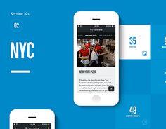 """다음 @Behance 프로젝트 확인: """"National Geographic City Guides iOS App"""" https://www.behance.net/gallery/28254357/National-Geographic-City-Guides-iOS-App"""