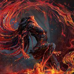Infographics fantasy artwork sketches, fantasy artwork dark warriors, f. Dark Fantasy Art, Artwork Final Fantasy, Arte Final Fantasy, Fantasy Kunst, Beautiful Fantasy Art, Dream Fantasy, Fantasy Demon, Digital Art Fantasy, Fantasy Witch
