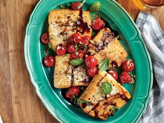 Top Halibut Recipes | The largest of the flatfish family, halibut is an ultra-lean fish with a tender texture that makes it the perfectgo-to fish for grilling or sautéing. Avoid frozen halibut, as it tends to overcook and dry out. Shop for the more sustainable Pacific halibut, and forgo Atlantic-caught halibut when possible.