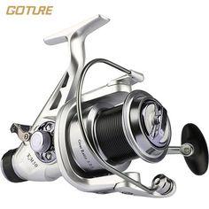 Goture Fishing Reel Double Brake Carp Fishing Feeder 11BB Spinning Reel 5.2:1 Quality Fishing Reel 5000 6000