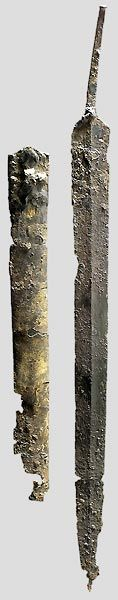 sword from iron age