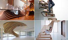 15 Escadas que possuem um design único