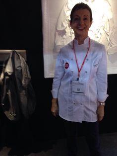 Carme Ruscalleda al #forumgastronomic #bcn #stad #csty #uniformeshosteleria #chefs