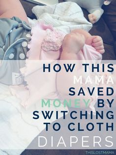 How to Save Money switching to Cloth Diapers. Looking to save a little date night money every month? Or saving for that family vacation? Invest in cloth diapers - This Lost Mama @norasnursery #clothdiapers #newborntips #savingmoney #homemakingtips #thislo