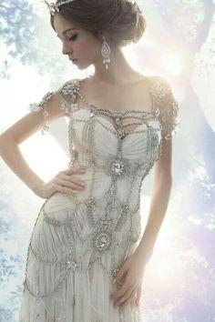 Breathtaking wedding style.
