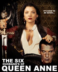 Anne Boleyn. I kind of wish this were true. This would make a great book