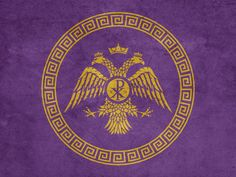 coats of arms europe Byzantine empire _____________________ for more _____________________ - Byzantine Icons, Byzantine Art, Ancient Rome, Ancient History, Fall Of Constantinople, Imaginary Maps, Medieval, Constantine The Great, Vintage Holy Cards