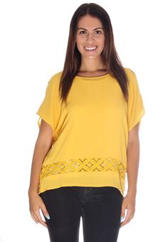 Multi Chevron Lace Back Top #wholesale apparel #wholesale boutique ...