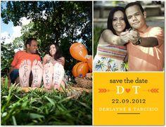 Save the Date   Derlayne e Tarcísio   Noivinhas de Luxo