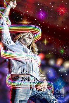 American Idol's Bo Bice http://www.redbubble.com/people/randymir/works/12791634-bo-bice?c=326602-concert-art