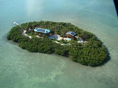 small home for sale on exclusive island. Sounds pretty safe. Lets hope the Mogs dont like water...