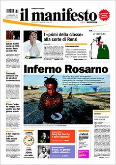Inferno Rosarno è #laprima di oggi