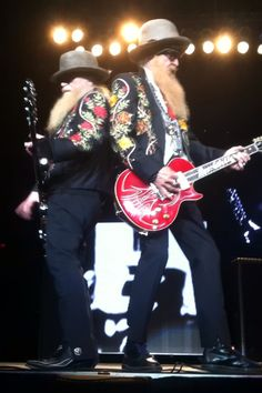 ZZtop!!! Really excited about seeing them!