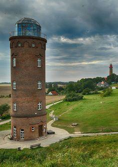 Leutchtturm Kap Arkona Rügen, on the German Baltic Sea coast in Mecklenburg-Vorpommern