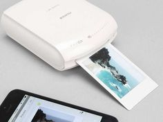 Printing Instagram photos to send to grandma can be a pain. This WiFi printer from Fuji that connects to your iPhone is one answer.