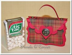 Reflections of my art & soul - Pamela O'Connor, Close To My Heart Independent Consultant: Tic Tac Valentine Purse Tutorial