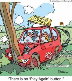 Being a nervous first time driver is normal, but we'll help you get through the little hurdles that cause anxiety. Contact us on 0815440785 for more information on our lessons. Funny Cartoons, Funny Comics, Funny Jokes, Subaru Outback, Bmw M4, Lamborghini Huracan, Toyota 4runner, Driving Humor, Comedy Comics