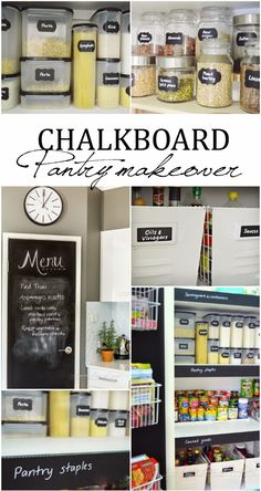 A house full of sunshine: Chalkboard pantry makeover... and an announcement I Heart like crazy!