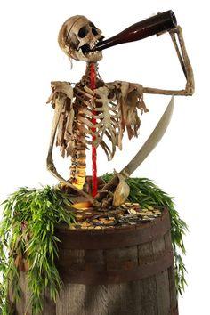 Pirates of the Caribbean original cursed drinker prop.