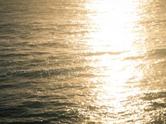 ocean photography gold golden yellow pale by SouvenirPhotography, $25.00