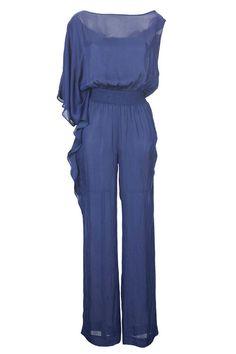 Zara jumpsuit, $90, zara.com. Courtesy Zara - HarpersBAZAAR.com