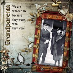 Elements and papers are from Scrapbookgraphics.