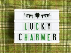 5 Unique Ways To Show Your St. Patrick's Day Spirit – My Cinema Lightbox Light Up Box, Light Board, St Pattys, St Patricks Day, St Patrick's Day Photos, Lightbox Quotes, My Cinema Lightbox, Boxing Quotes, Irish Quotes
