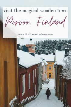What are the best things to do and places to be in Porvoo, an adorable old wooden town less than an hour from Helsinki? Europe Travel Guide, Travel Destinations, Places In Europe, Travel Activities, Helsinki, Day Trips, Finland, Good Things, Group