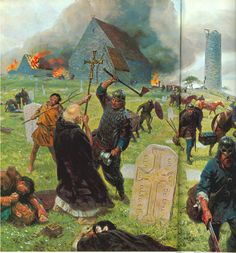 Viking attack on Lindisfarne. The 1st recorded Viking raid took place in 793 at a monastery on the island of Lindisfarne, off the north-east coast of Scotland.Monasteries were a prime target for Vikings because it is believed that they held great wealth within their walls.