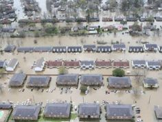 Over 40,000 homes have been impacted and 11,000 people are displaced due to the raging floods in Louisiana.