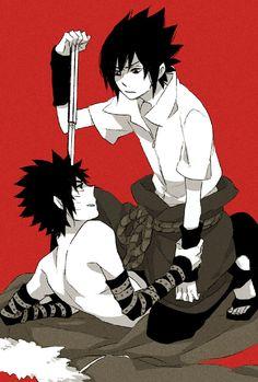 Naruto - Sasuke Uchiha x Menma Uzumaki - SasuMen