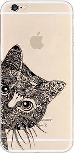 iPhone Case, DECO FAIRY® Protective Case Bumper[Scratch-Resistant] [Perfect Fit] Translucent Silicone Clear Case Gel Cover for Apple iPhone (Aztec Cat for iPhone 6) DECO FAIRY® http://www.amazon.com/dp/B00ZZL5SXI/ref=cm_sw_r_pi_dp_NOWOvb0H4C5YK