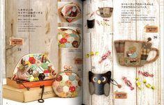 Akemi Shibata Patchwork bienes-libro del arte por pomadour24