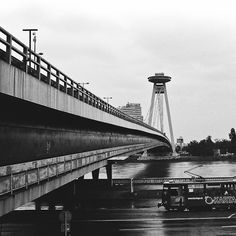 novy most bridge UFO bratislava architecture