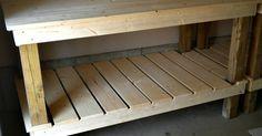 Quick and Easy DIY Potting Bench potting bench diy easy woodwork, diy, gardening, woodworking projec Woodworking Saws, Woodworking Furniture, Woodworking Projects, Woodworking Classes, Woodworking Equipment, Woodworking Patterns, Woodworking Techniques, Woodworking Quotes, Youtube Woodworking