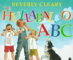 HULLABALOO ABC by Beverly Cleary. Three children have an exciting day on the farm as they romp through the alphabet.