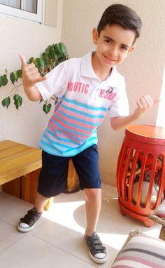 Looks para meninos - Brincar a vontade com looks descolados e de qualidade.