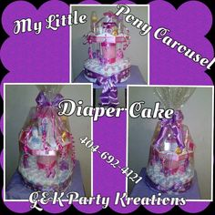 Enjoyed recreating this diaper cake. Yet again my client was blown away. 8/30/14