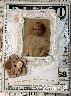 Sugar Lump Studios - Art by Nancy Maxwell James My Funny Valentine, Fabric Journals, Fabric Books, Fabric Postcards, Scrapbook Paper Crafts, Scrapbooking Ideas, Nostalgia, Vintage Cards, Vintage Diy