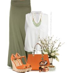 Maxi Skirts by celinecucci on Polyvore