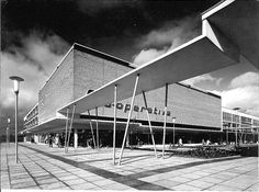 Wythenshawe Forum just after opening. Manchester 1960's