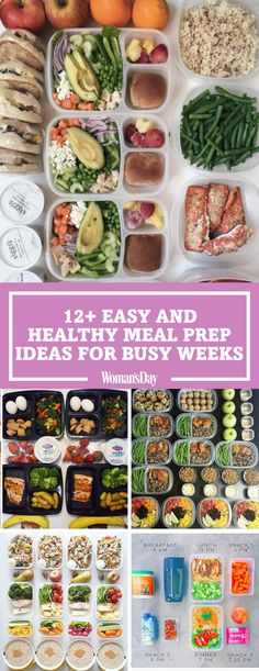 Nutritious eating just got a whole lot easier with these healthy meal prep ideas. These meal prep ideas will save you time during your busy weeks by allowing you to only think about food one day per week. Prepping snacks and meals helps to get into the gr Meal Prep Plans, Easy Meal Prep, Diet Meal Plans, Meal Preparation, Healthy Eating Facts, Clean Eating Snacks, Eating Habits, Eating Raw, Healthy Drinks