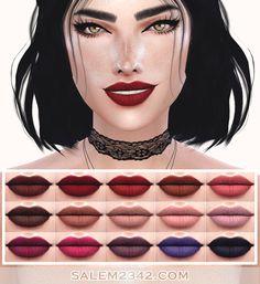 Lana CC Finds - Lipstick 02 by salem