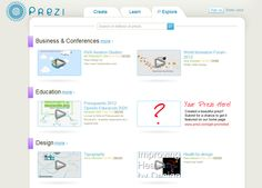 Created a beautiful prezi? Submit for a chance to get it featured on our front page!